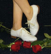 Sarah's tap shoes