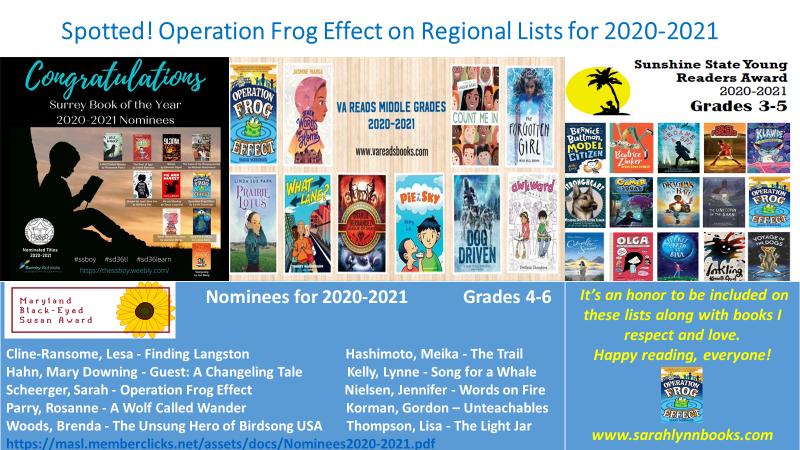 Spotted! Operation Frog Effect on Regional Lists for 2020-2021